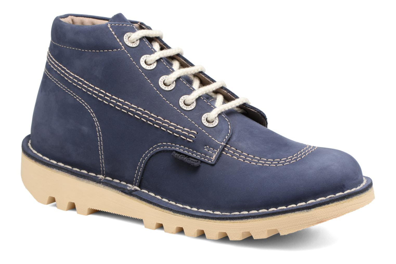 Bottines et boots Kickers NEORALLYE  Bleu vue détail/paire
