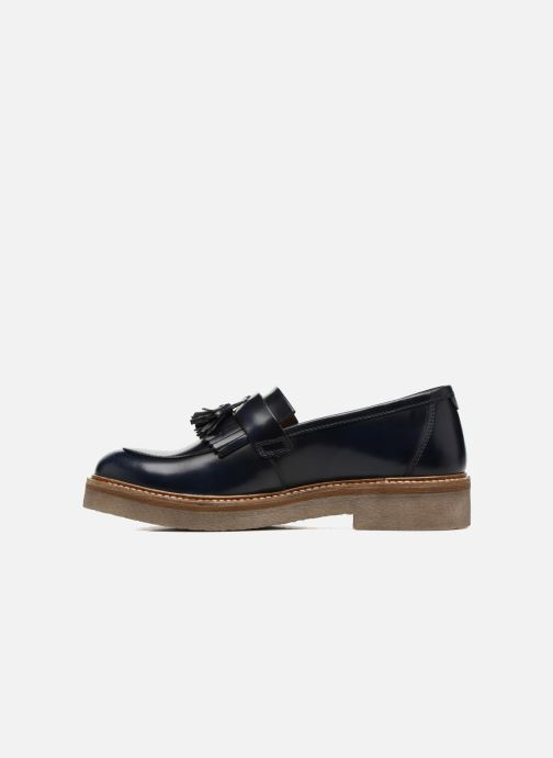 Mocassins Kickers OXFOX Bleu vue face