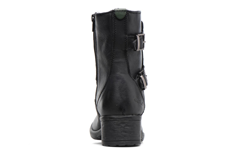 Bottines et boots Kickers REKKAN Noir vue droite