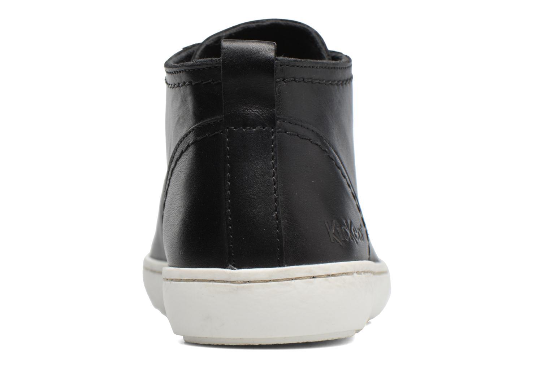 Baskets Kickers REVIEW Noir vue droite