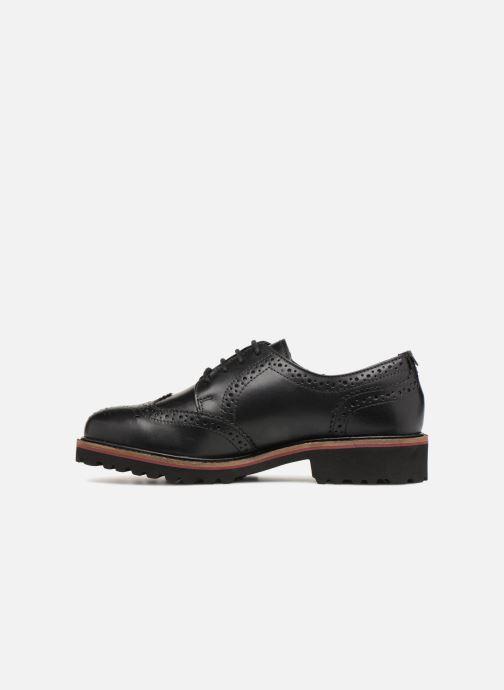 Zapatos con cordones Kickers RONY Negro vista de frente