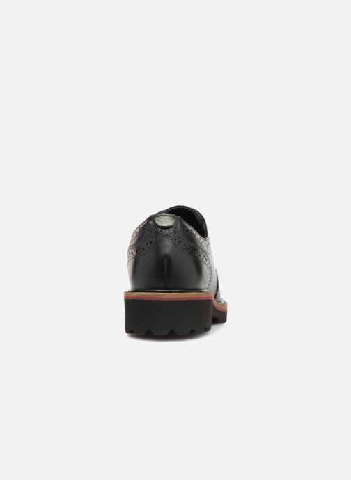 Zapatos con cordones Kickers RONY Negro vista lateral derecha