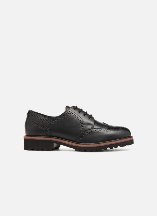 Zapatos con cordones Kickers RONY Negro vistra trasera