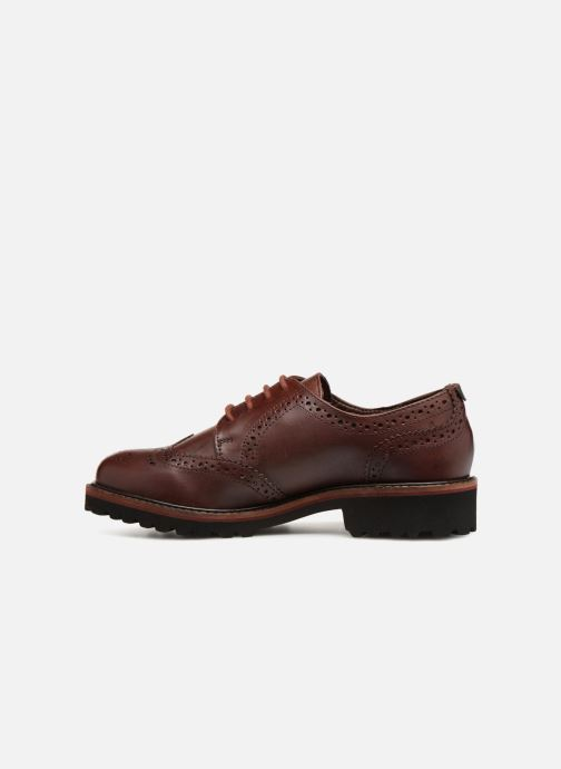 Chaussures à lacets Kickers RONY Marron vue face