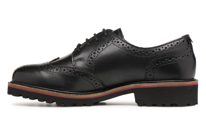 Chaussures à lacets Kickers RONY Noir vue face