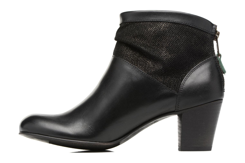 Boots en enkellaarsjes Kickers SEETY Zwart voorkant
