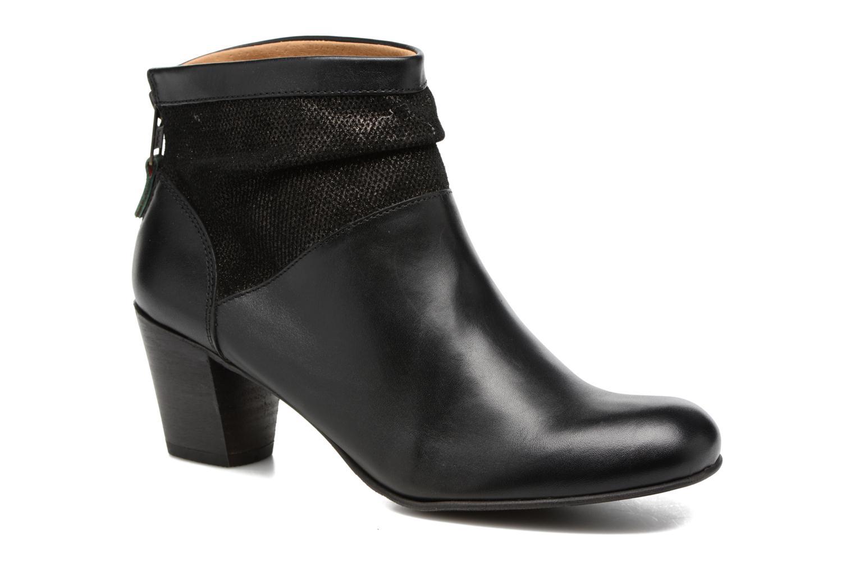 Boots en enkellaarsjes Kickers SEETY Zwart detail