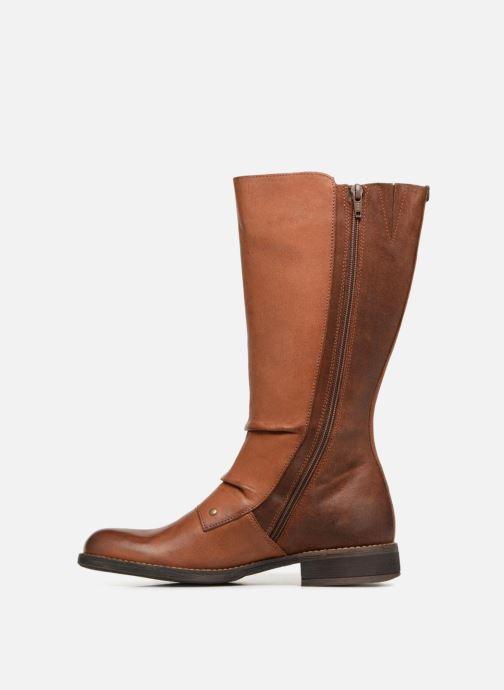 Støvler & gummistøvler Kickers SMACKING Brun se forfra