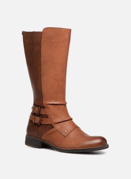 Støvler & gummistøvler Kickers SMACKING Brun detaljeret billede af skoene