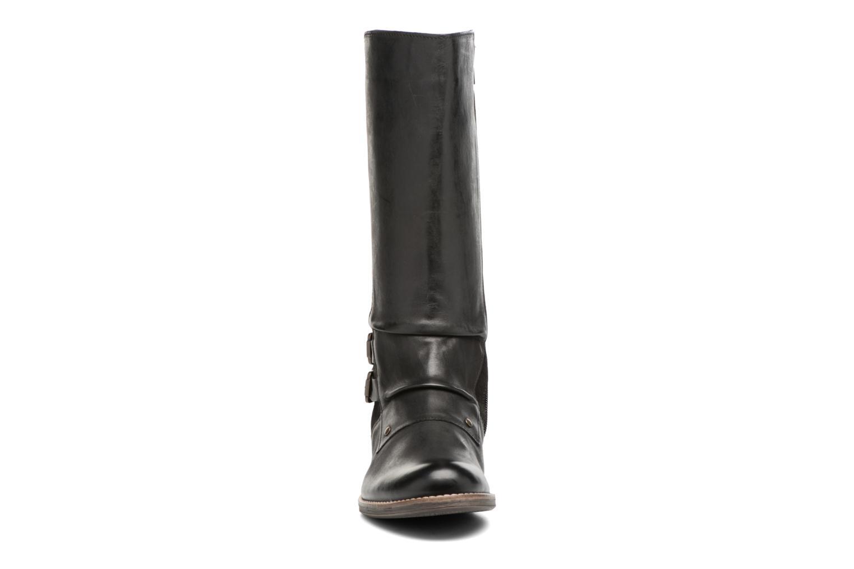Bottes Kickers SMACKING Noir vue portées chaussures