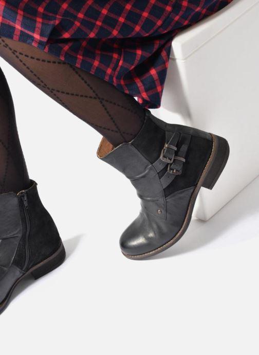 Boots en enkellaarsjes Kickers SMATCH Zwart onder