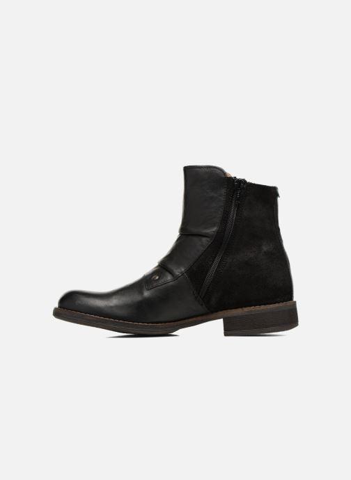 Boots en enkellaarsjes Kickers SMATCH Zwart voorkant