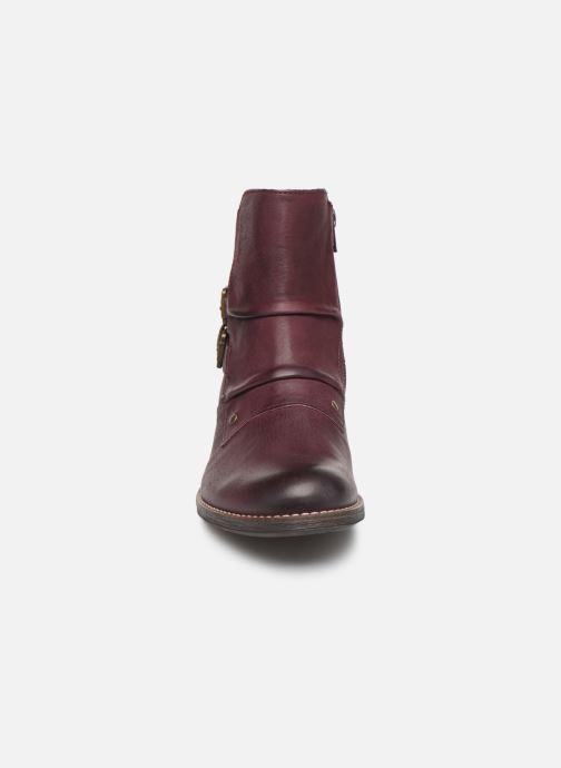 Bottines et boots Kickers SMATCH Bordeaux vue portées chaussures