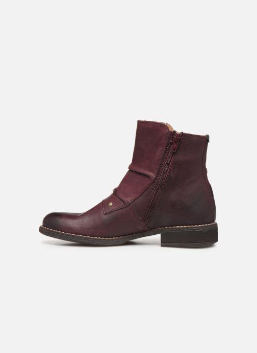 Boots en enkellaarsjes Kickers SMATCH Bordeaux voorkant