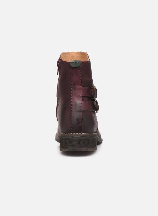 Boots en enkellaarsjes Kickers SMATCH Bordeaux rechts