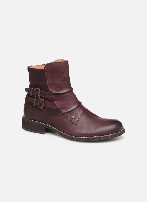 Boots en enkellaarsjes Kickers SMATCH Bordeaux detail