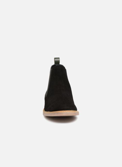 Bottines et boots Kickers TYGA Noir vue portées chaussures