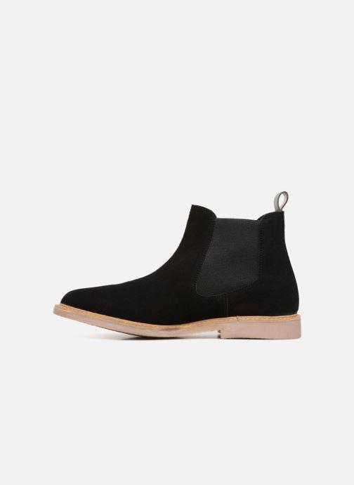 Bottines et boots Kickers TYGA Noir vue face