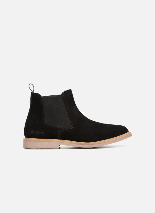 Bottines et boots Kickers TYGA Noir vue derrière