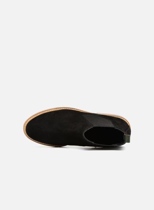 Bottines et boots Kickers TYGA Noir vue gauche
