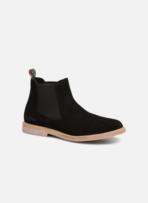 Bottines et boots Kickers TYGA Noir vue détail/paire