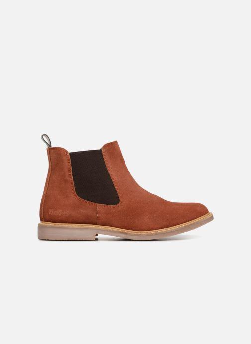 Bottines et boots Kickers TYGA Rouge vue derrière