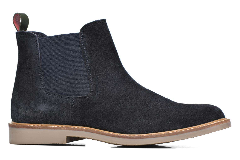 Bottines et boots Kickers TYGA Bleu vue derrière