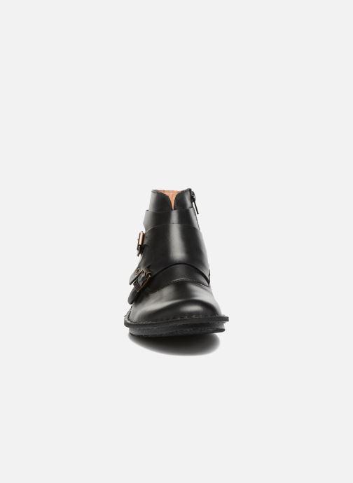 Stivaletti e tronchetti Kickers WABOOT Nero modello indossato