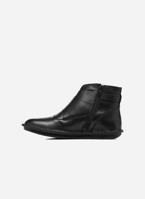 Boots en enkellaarsjes Kickers WABOOT Zwart voorkant