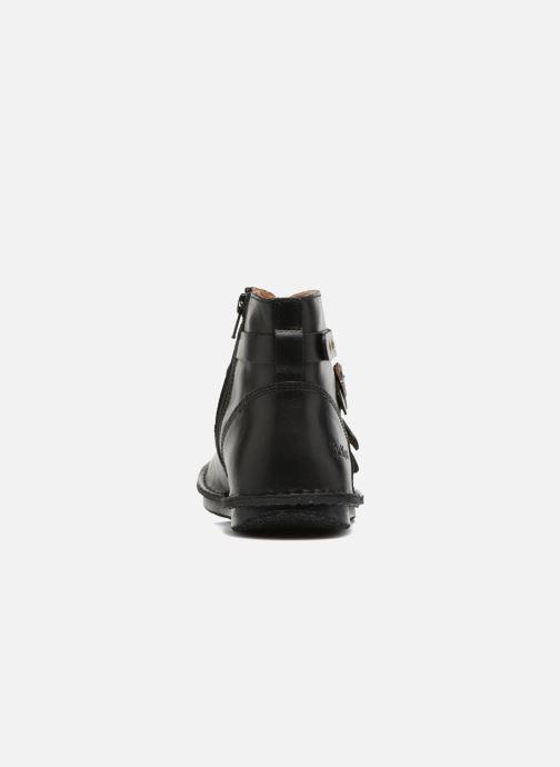 Boots en enkellaarsjes Kickers WABOOT Zwart rechts