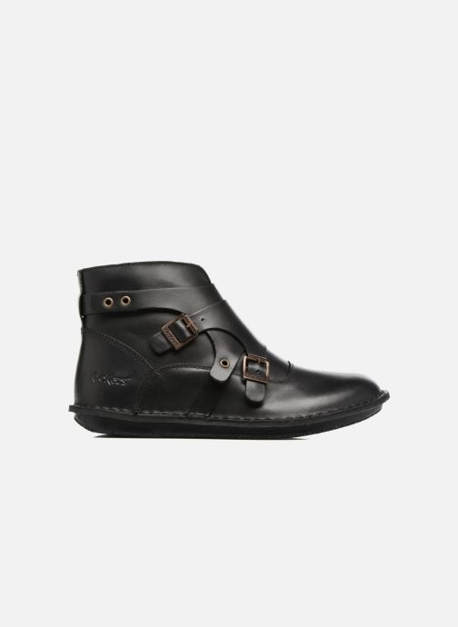 Boots en enkellaarsjes Kickers WABOOT Zwart achterkant