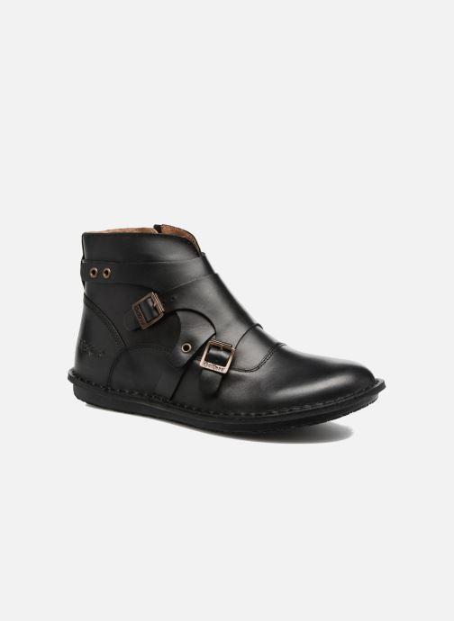 Boots en enkellaarsjes Kickers WABOOT Zwart detail