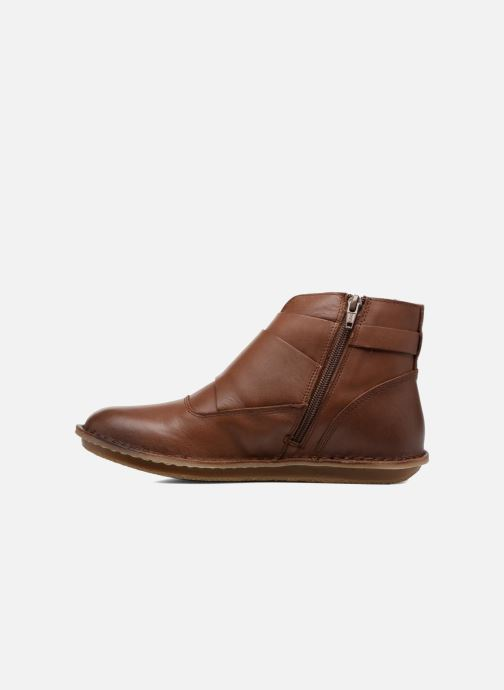 Boots en enkellaarsjes Kickers WABOOT Bruin voorkant