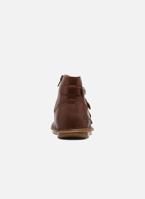Boots en enkellaarsjes Kickers WABOOT Bruin rechts