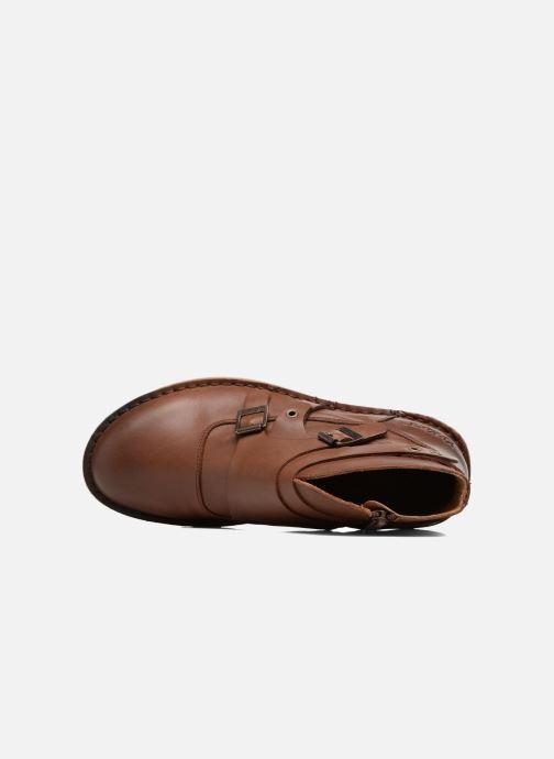 Boots en enkellaarsjes Kickers WABOOT Bruin links