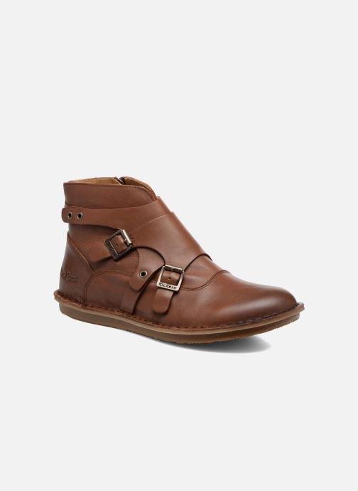 Boots en enkellaarsjes Kickers WABOOT Bruin detail