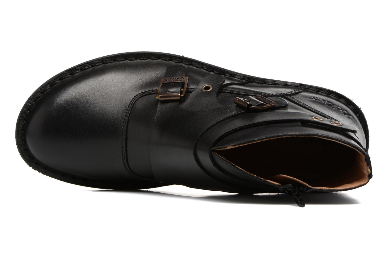 Bottines et boots Kickers WABOOT Noir vue gauche