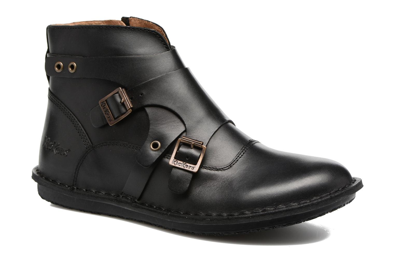 Bottines et boots Kickers WABOOT Noir vue détail/paire