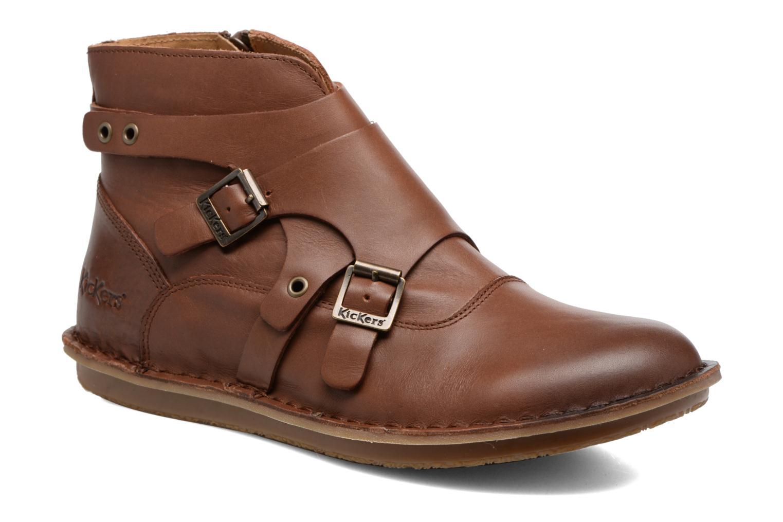 Nuevo Botines zapatos Kickers WABOOT (Marrón) - Botines Nuevo  en Más cómodo ae3b07
