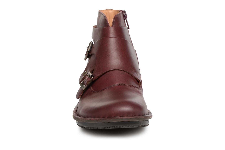 Bottines et boots Kickers WABOOT Bordeaux vue portées chaussures