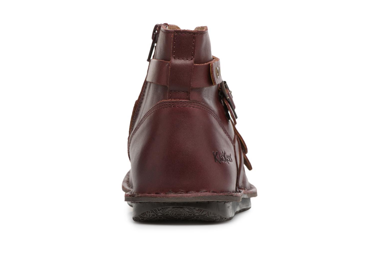 Bottines et boots Kickers WABOOT Bordeaux vue droite