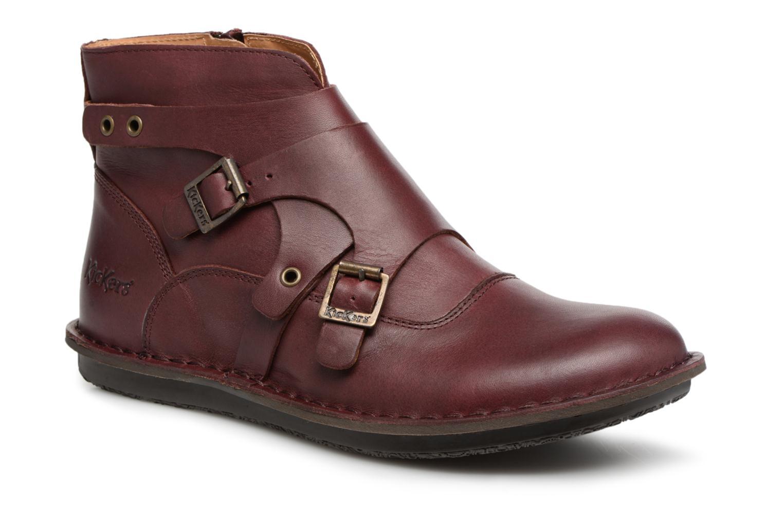 Bottines et boots Kickers WABOOT Bordeaux vue détail/paire