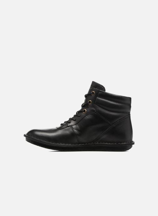 Stiefeletten & Boots Kickers WABUCK schwarz ansicht von vorne