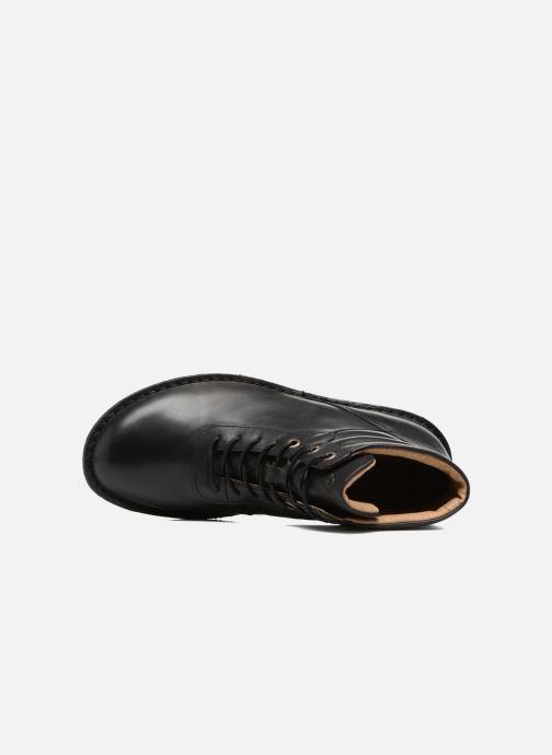 Stiefeletten & Boots Kickers WABUCK schwarz ansicht von links