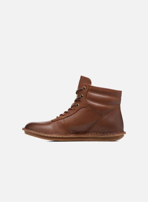 Bottines et boots Kickers WABUCK Marron vue face