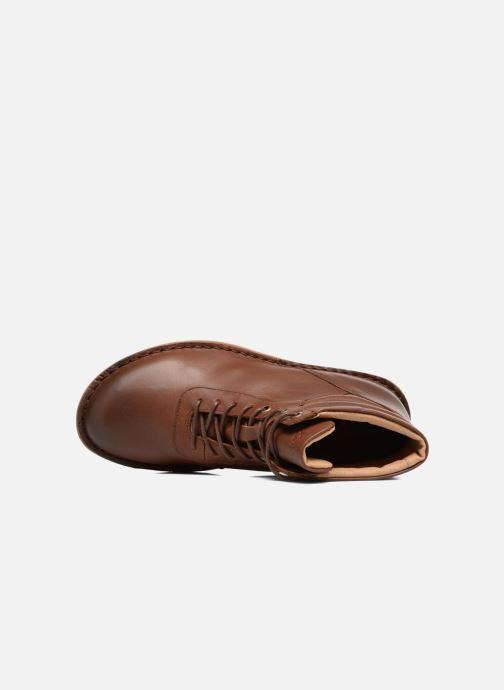 Bottines et boots Kickers WABUCK Marron vue gauche
