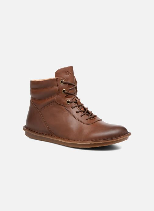 Boots en enkellaarsjes Kickers WABUCK Bruin detail