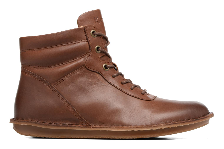 Bottines et boots Kickers WABUCK Marron vue derrière