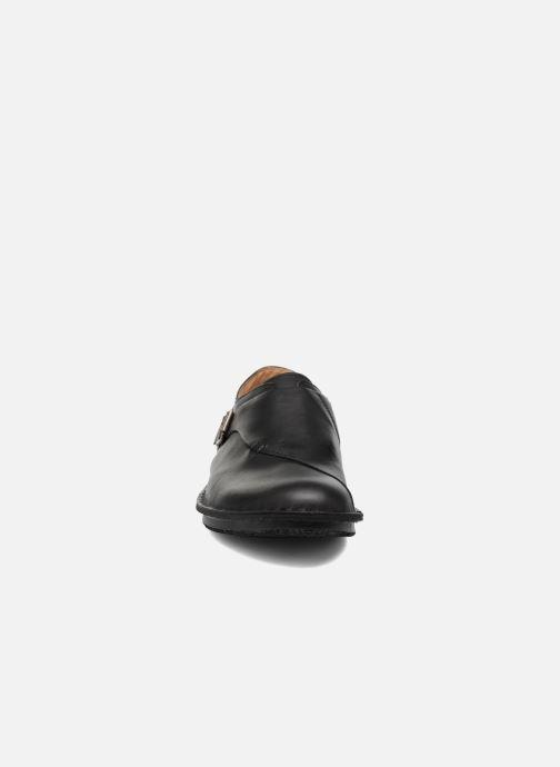 Mocasines Kickers WABUCKLOW Negro vista del modelo