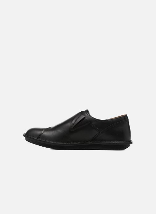 Mocassins Kickers WABUCKLOW Noir vue face